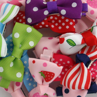 Assorted Hair Bows Party Bag Deals by lottie nottie