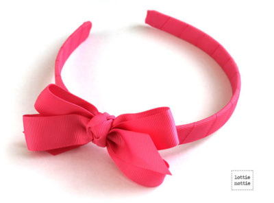 Alice Band Hot Pink