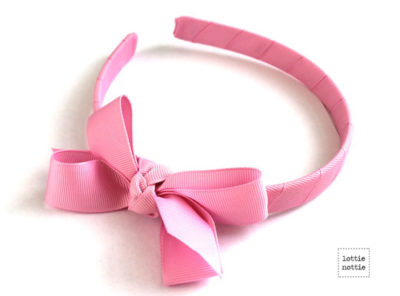 Alice Band Mid Pink