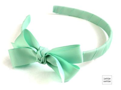 Alice Band Green Mint