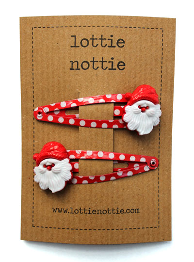 Father Christmas on Spotty Clips