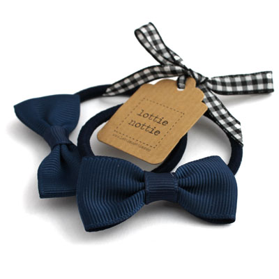 Navy-Blue-Bow-Hair-Bands