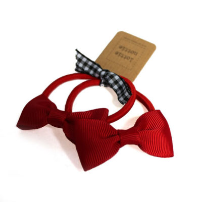 Red Bow Hair Bands