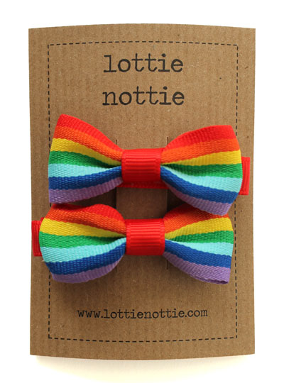 Rainbow-Small-Bow-Hair-Clip