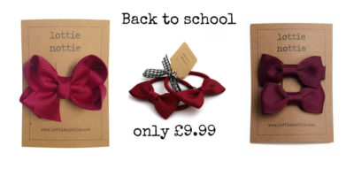 Burgundy back to school bundle