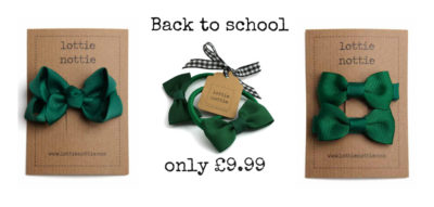 Green back to school bundle