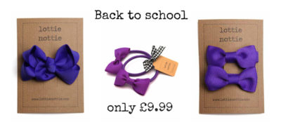 Purple back to school bundle