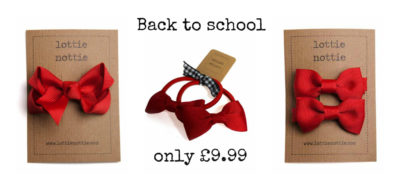 Red back to school bundle
