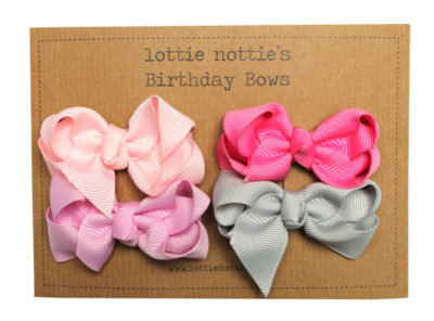 Pink-Birthday-Bows