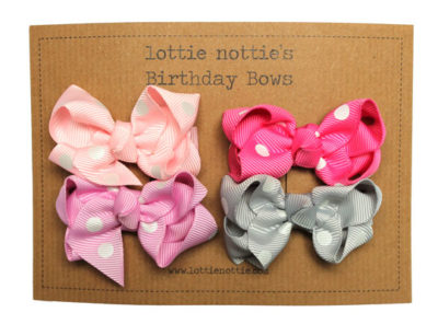 Pink-POLKA-Birthday-Bows