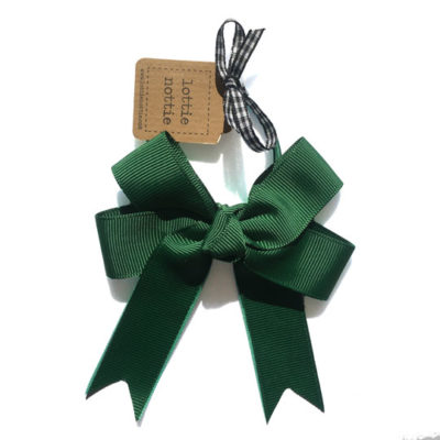 Double-Bow-Hair-Band-Green-